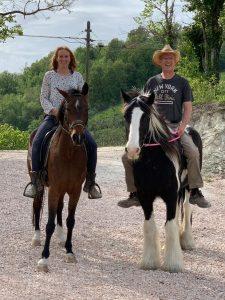 Paardrijden in Italie